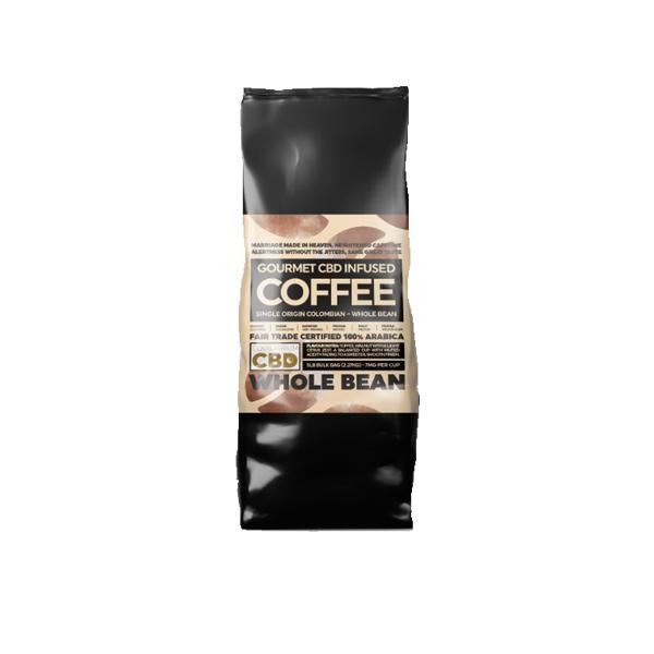 Equilibrium CBD 1000mg Gourmet Whole Bean CBD Coffee Bulk 2.27kg Bag - Natural Euphoria