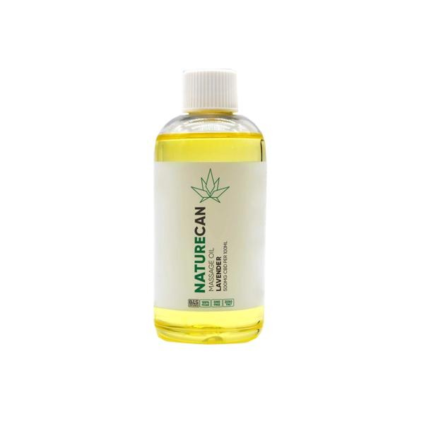 Naturecan 500mg CBD Massage Oil 100ml - Natural Euphoria