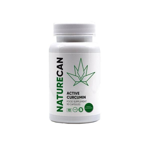 Naturecan Active Curcumin 90 Capsules - Natural Euphoria