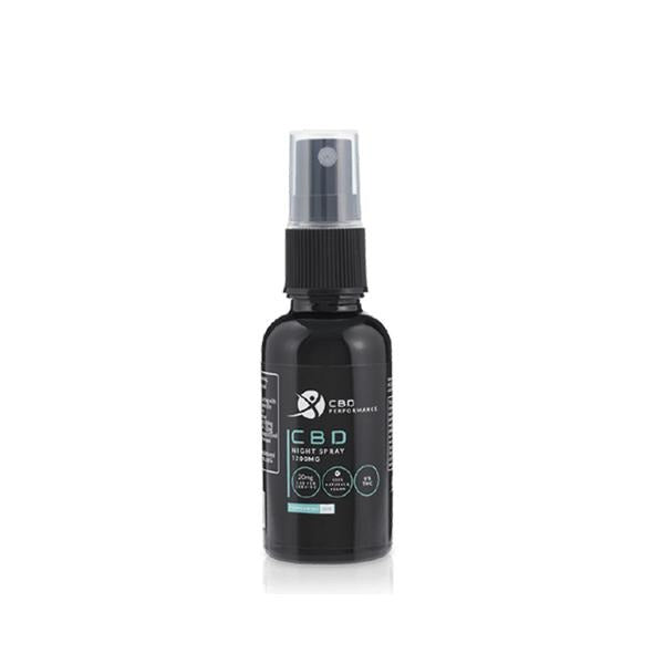 CBD Performance 1200mg CBD Night Spray Oil 30ml - Natural Euphoria