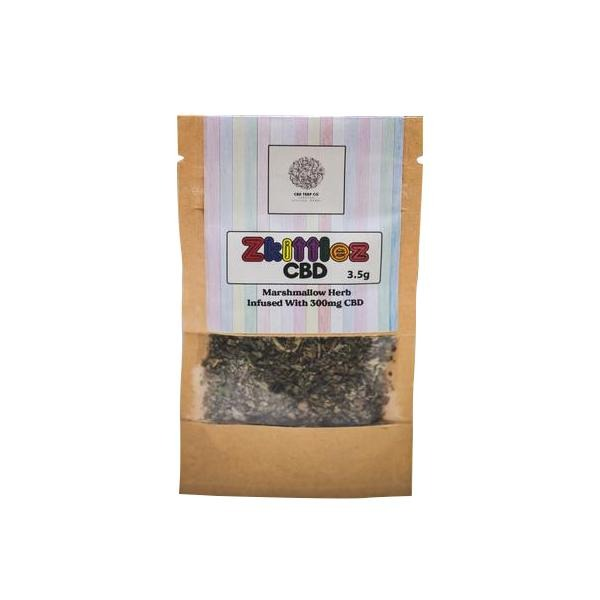 Zkittlez 300mg CBD Infused Marhmallow Herb Tea 3.5g - Natural Euphoria