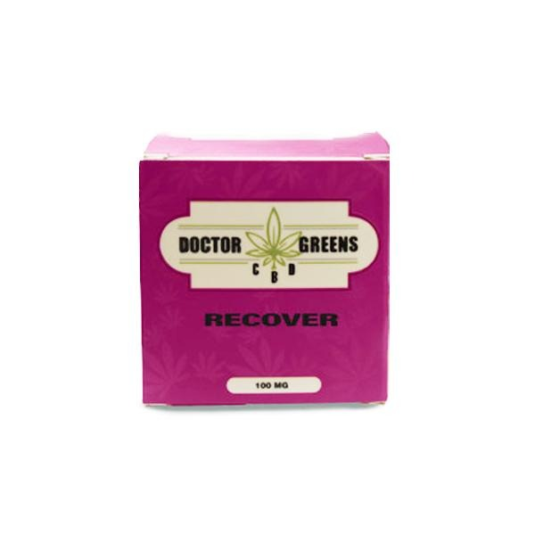 Doctor Green's 100mg CBD Bath Bomb - Recover - Natural Euphoria
