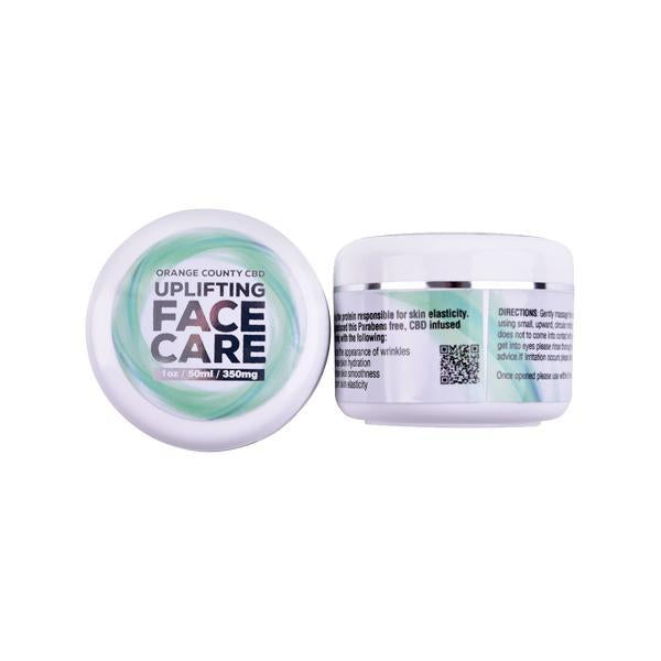 Orange County CBD 300mg Collagen Face Cream 50ml - Natural Euphoria