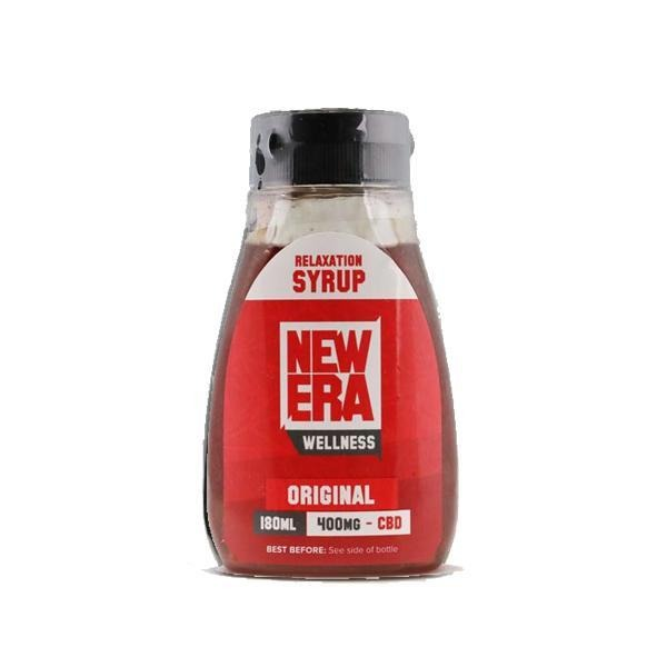New Era Wellness 400mg CBD Relaxation Syrup 180ml - Natural Euphoria