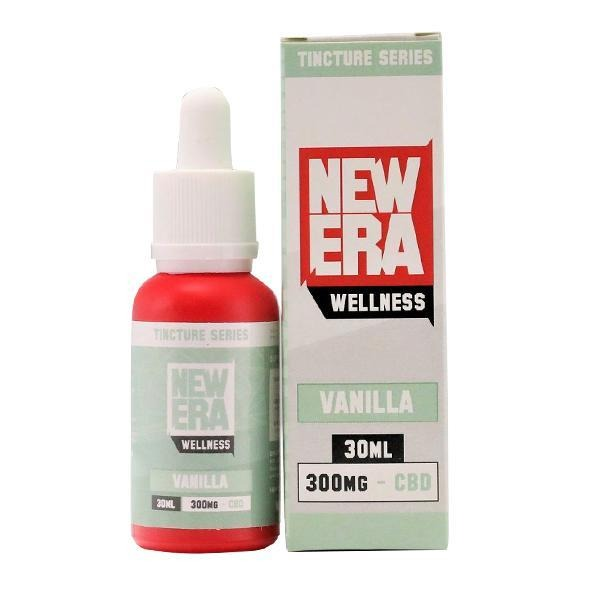 New Era Wellness 300mg CBD Tincture Series 30ml - Natural Euphoria