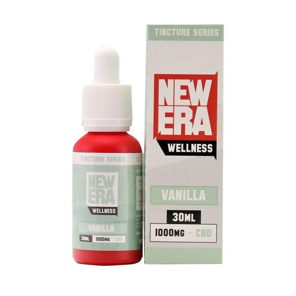 New Era Wellness 1000mg CBD Tincture Series 30ml - Natural Euphoria