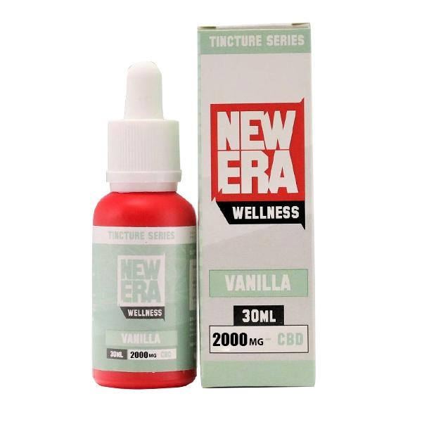 New Era Wellness 2000mg CBD Tincture Series 30ml - Natural Euphoria