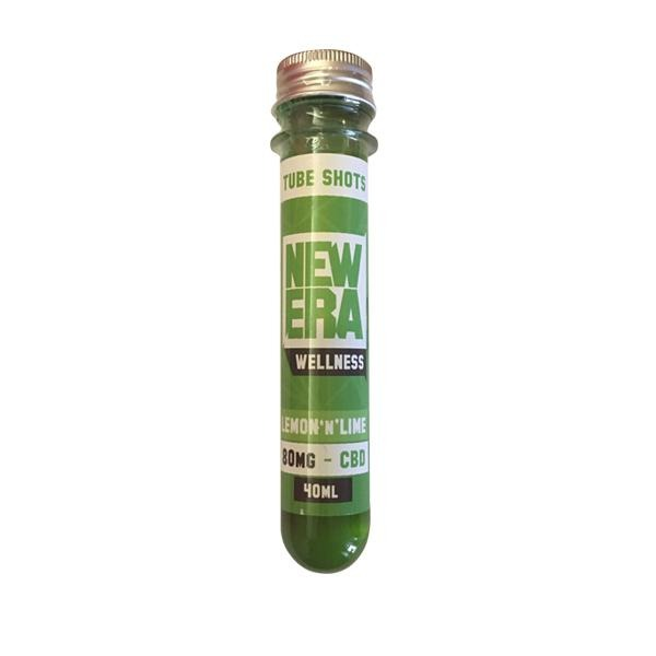 New Era Wellness 80mg CBD Booster Shot 40ml - Natural Euphoria