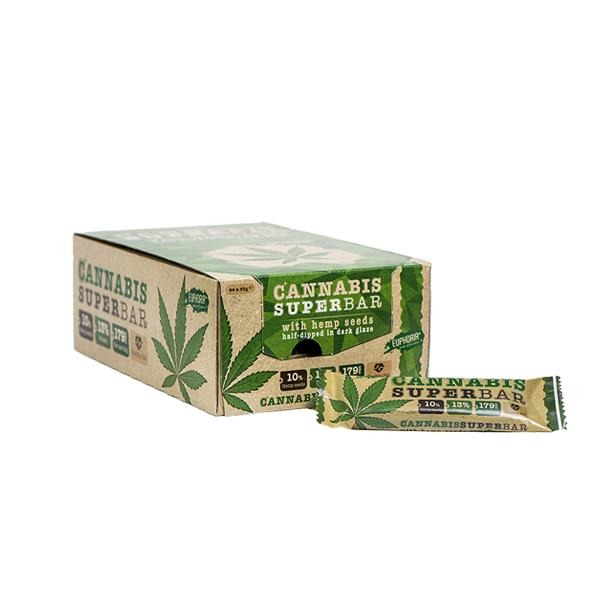 Euphoria Cannabis Protein Super Bar - Natural Euphoria