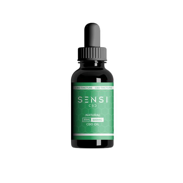 Sensi CBD 500mg CBD Broad-Spectrum Tinture Oil 30ml