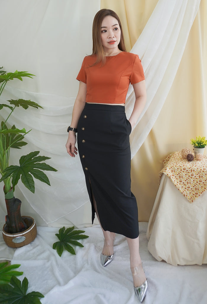 Valentina Top Set (Top + Skirt)