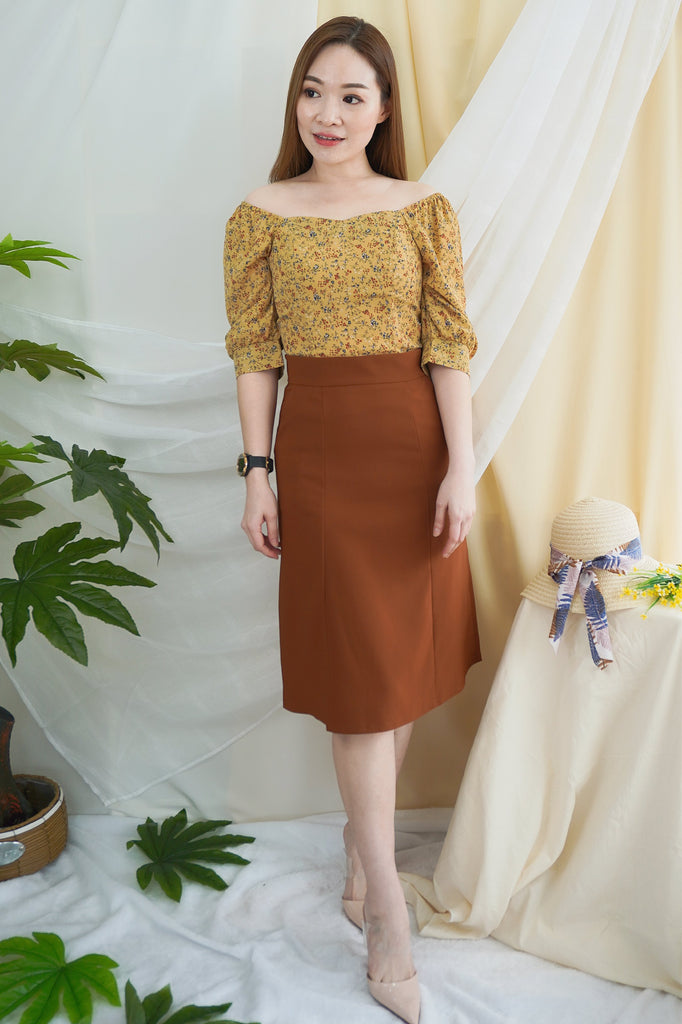 Ember Top Set (Top + Skirt)