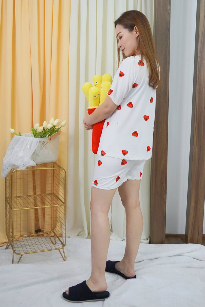 Strawberry Pyjamas Set (Top + Pants)