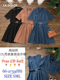 Makenzie Dress Set (Dress + Coat)