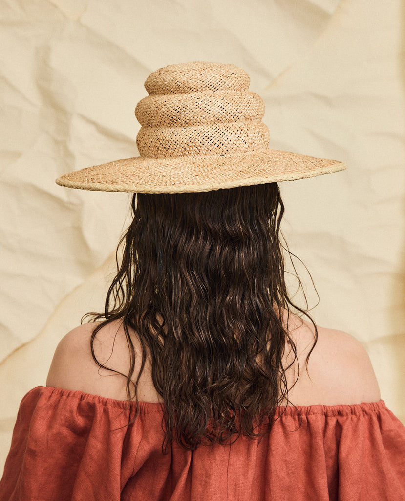 Turrell straw hat
