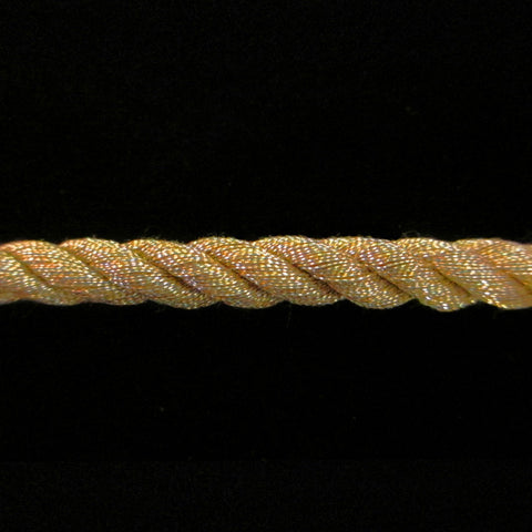 "312.2 Large metallic cord antique gold 1/4"" (6mm) - Palladia Passementerie"