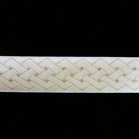 "478 Celtic weave 7/8"" (22mm) - Palladia Passementerie  - 1"