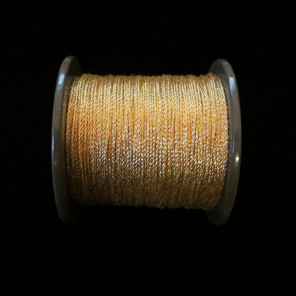 "55.1 Mini metallic cord bright gold 1/64"" (0.4mm) - Palladia Passementerie"