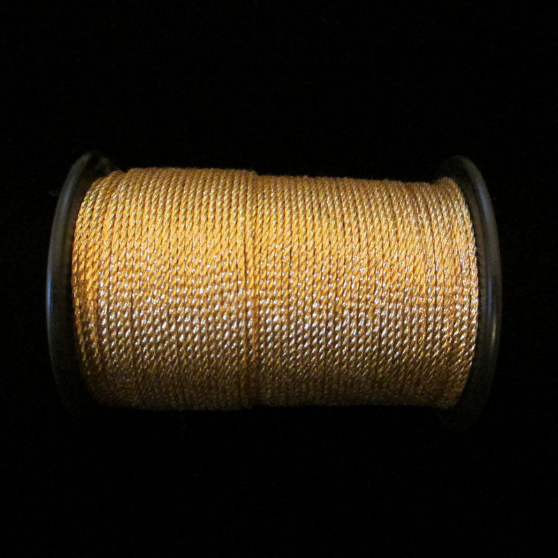 "56.1 Metallic cord bright gold 1/32"" (0.8mm) - Palladia Passementerie"