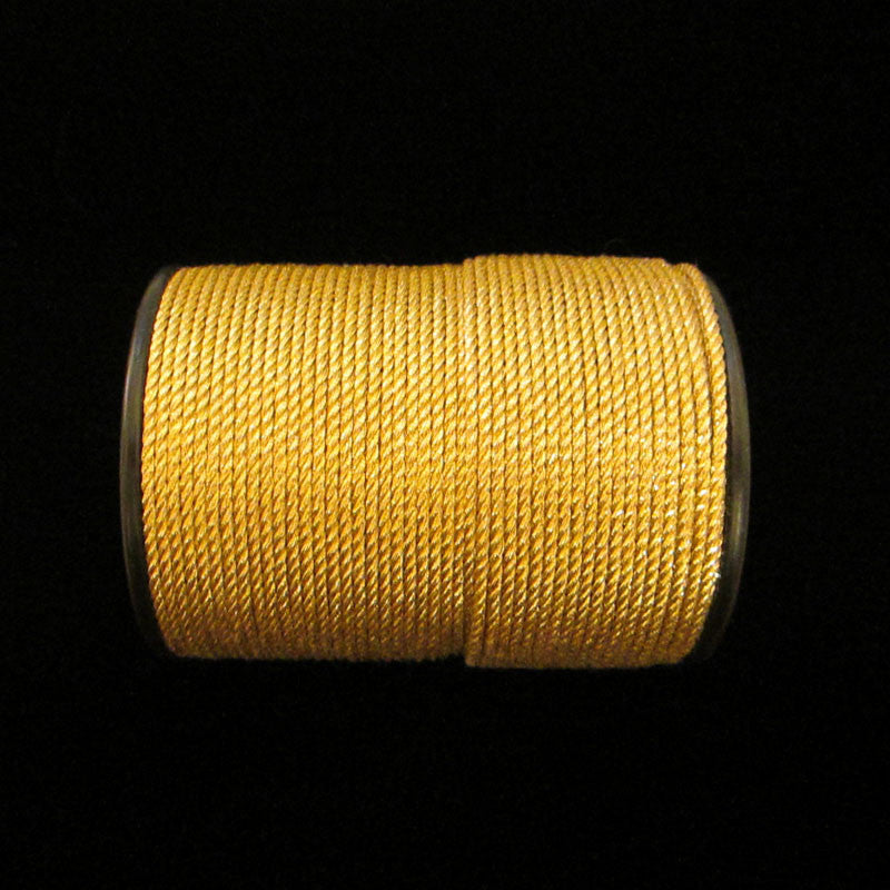 "57.1 Metallic cord bright gold 1/16"" (1.6mm) - Palladia Passementerie  - 1"
