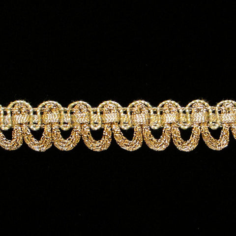 "643.2 Large festoon AG 5/8"" (16mm) - Palladia Passementerie"