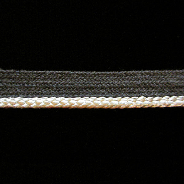"R040 Piping pale gray ⅜"" (9mm) - Palladia Passementerie"
