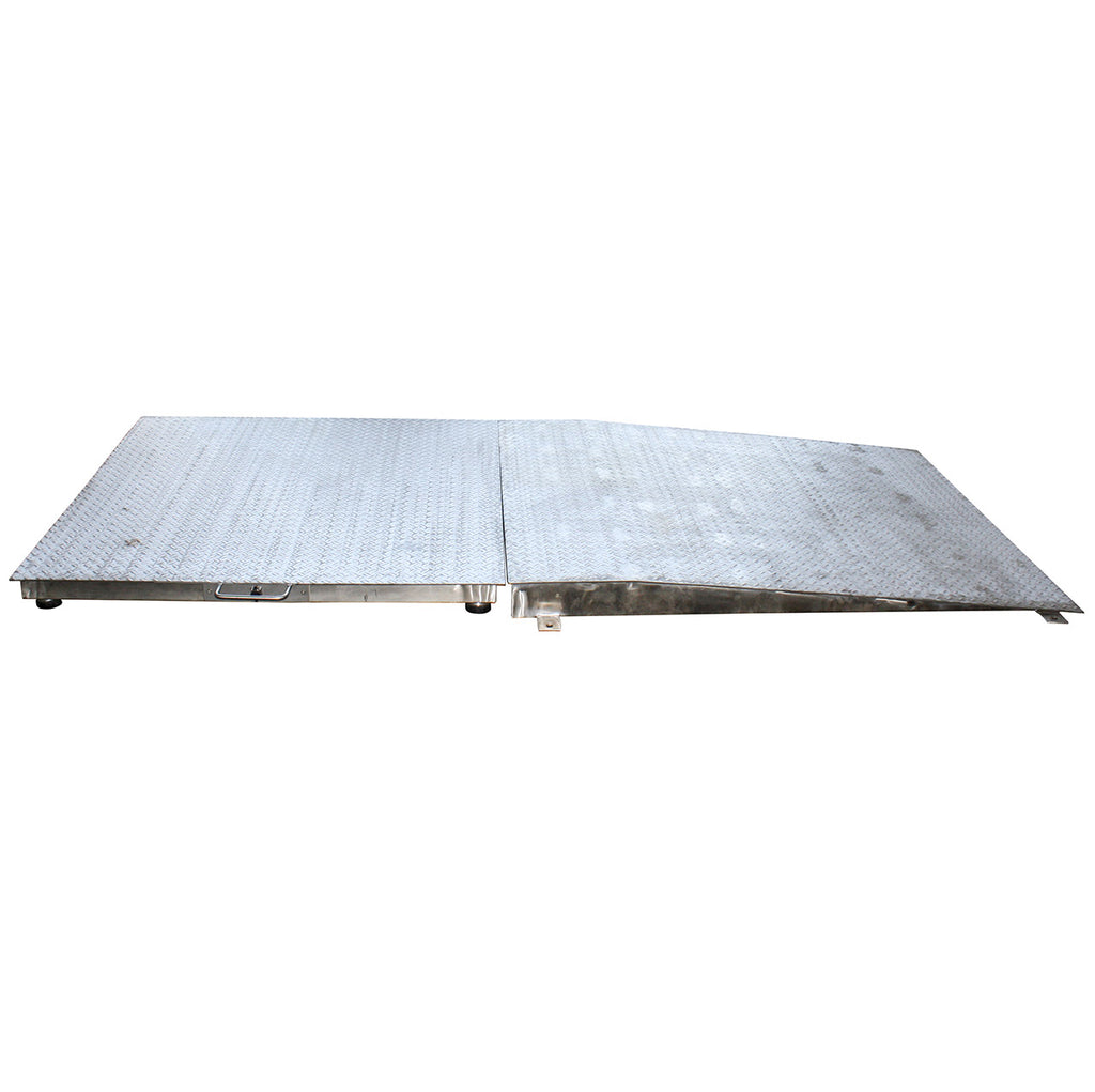 Ramp Stainless Steel Diamond Tread Plate