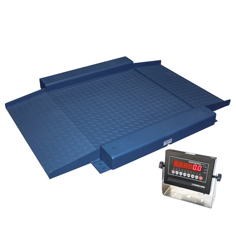 "48"" x 48"" x 1.2"" H Low Profile Drum Scale"