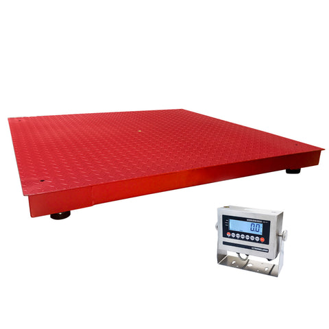 5,000lbs All-Weather Floor Scale