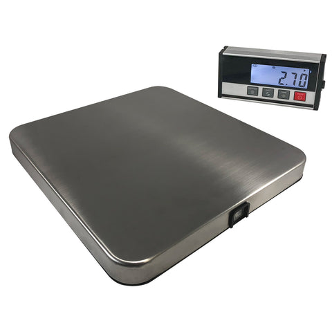 "12"" x 11"" x 1.5""H BT Shipping Scale 330 lbs"