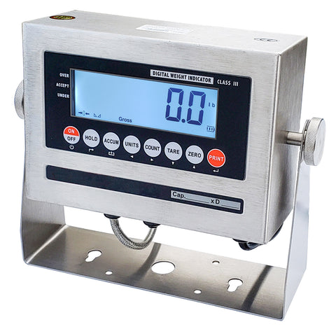 LCD NTEP Indicator Washdown Stainless Steel