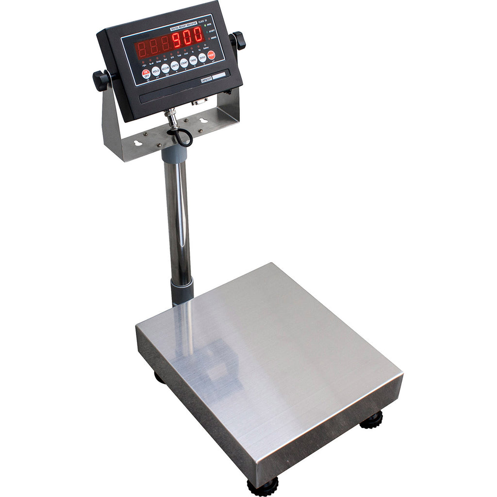 "18"" x 18"" x 4.25""H NTEP Bench Scale 400 lbs"