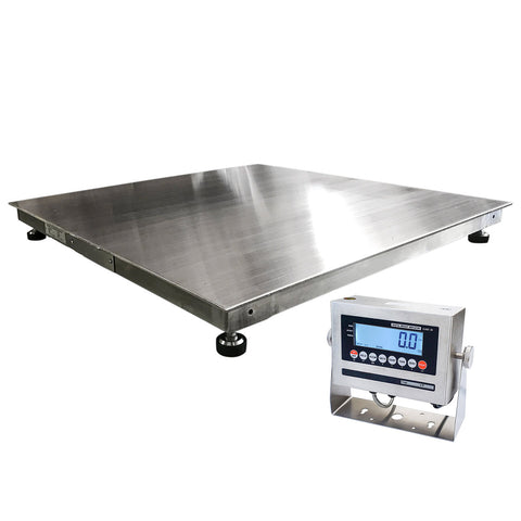 5,000 lbs Stainless Steel NTEP Floor Scale