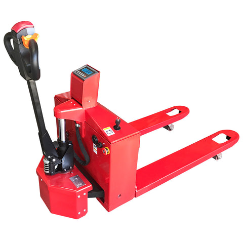 Motorized Pallet Jack Scale 3,300 lbs