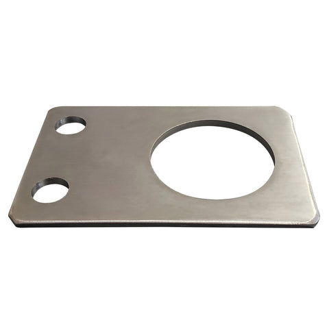 "2.43"" Anchoring Plate Stainless Steel"