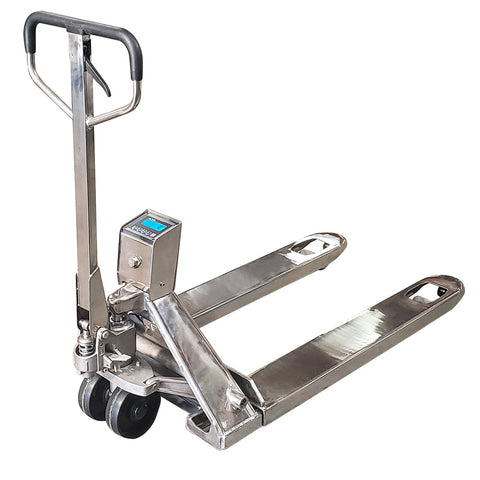 Stainless Steel Pallet Jack Scale 3,300 lbs