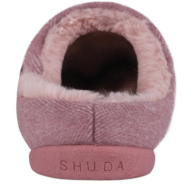 Helena Slipper in Powder Pink