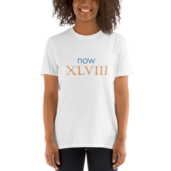 Now XLVIII (now 48, Roman numerals) - celebrate the birthday