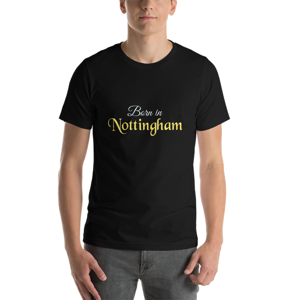 Born in Nottingham, A