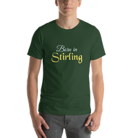 Born in Stirling, A