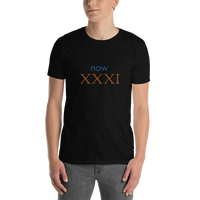 Now XXXI (now 31, Roman numerals) - celebrate the birthday