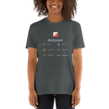 Orienteering - dictionary, B, dark shirt
