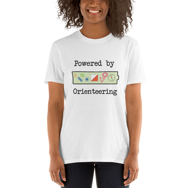 Orienteering - Powered by, light shirt