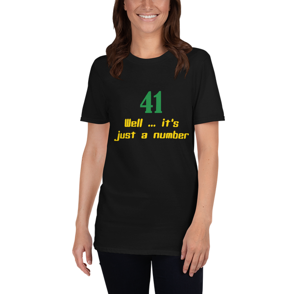 41 it's just a number