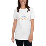 Now XXXVI (now 36, Roman numerals) - celebrate the birthday