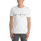 Math - Pythagoras, light shirt