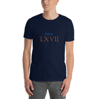 Now LXVII (now 67, Roman numerals) - celebrate the birthday