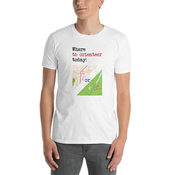 Orienteering - Where to orienteer today, light shirt, A
