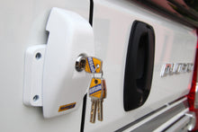 Load image into Gallery viewer, HEOSafe® Swivel Security lock Set (2) for Vans & Military trucks