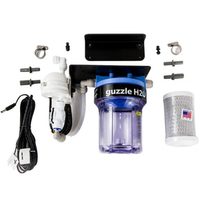 Stealth- Built in- Water Filtration System By GuzzleH2O